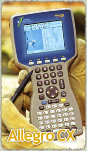 Juniper Systems Allegro CX Field PC