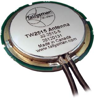 TW2515 Wideband Embedded GPS L1/Globalstar STU Antenna