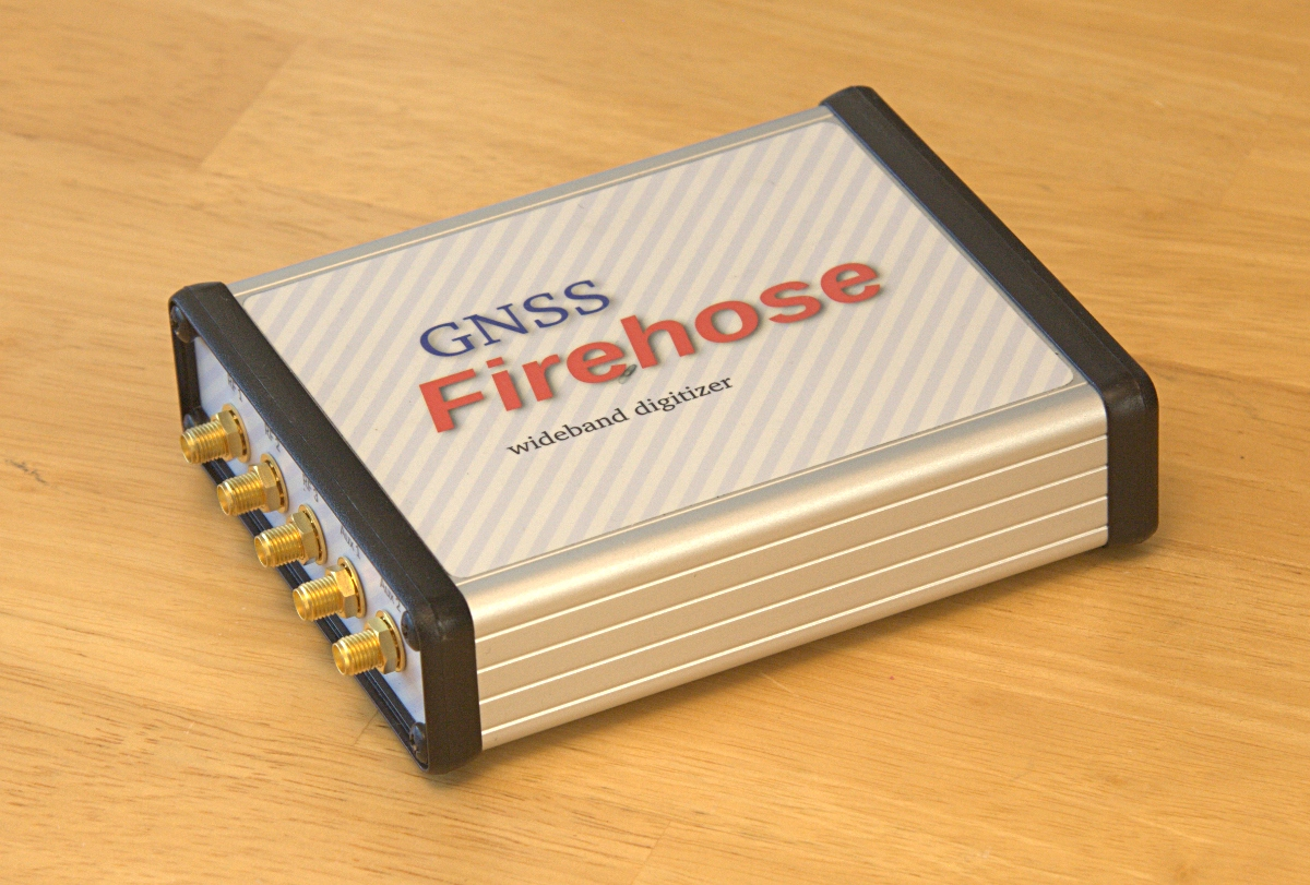 GNSS Firehose RF Front End / Digitizer - Tri-Band & Quad